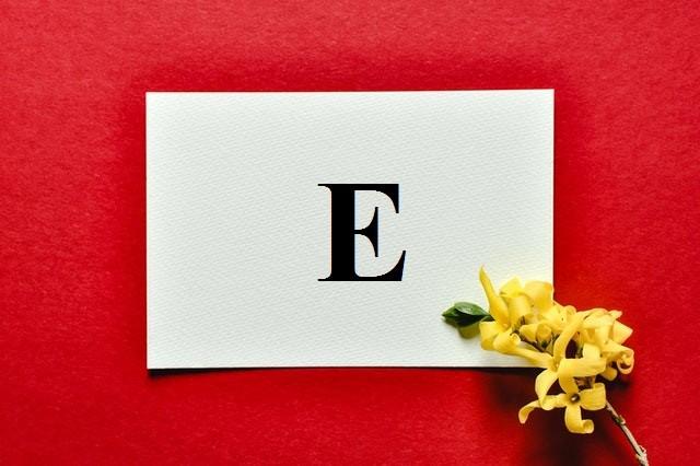 Итальянские наречия и союзы на букву E
